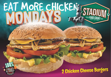 Monday Special At Stadium Fast Foods